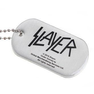 SLAYER nyaklánc (dögcédula) - WEHRMACHT SKULL - RAZAMATAZ, RAZAMATAZ, Slayer