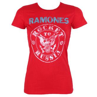 metál póló női Ramones - ROCKET RUSSIA - BRAVADO, BRAVADO, Ramones