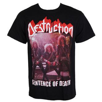 metál póló férfi Destruction - Sentence Of Death - MASSACRE RECORDS, MASSACRE RECORDS, Destruction