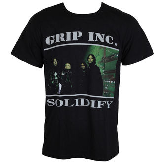 metál póló férfi Grip Inc. - Solidify - MASSACRE RECORDS, MASSACRE RECORDS, Grip Inc.