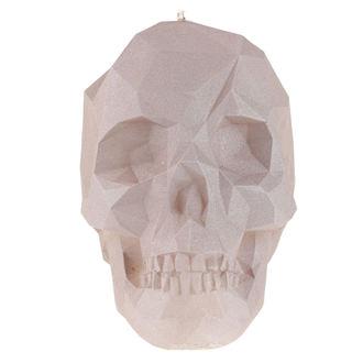 Skull gyertya  - Gray