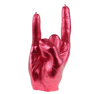 Hand gyertya - RCK Red Metallic