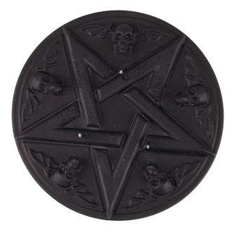 Pentagram gyertya - Black Matt