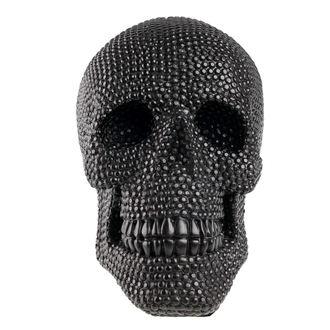 Skull dekoráció (koponya)  - Black