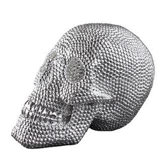 Skull dekoráció (koponya) - Silver