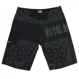 METAL MULISHA férfi rövidnadrág (úszónadrág) - REPRESENT - BLK, METAL MULISHA