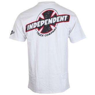 utcai póló férfi - Slant Btg Fill White - INDEPENDENT, INDEPENDENT