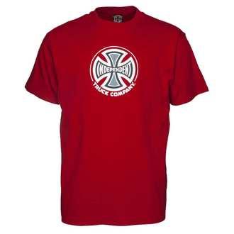 utcai póló férfi - Truck Co Cardinal Red - INDEPENDENT, INDEPENDENT