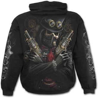 kapucnis pulóver férfi gyermek - STEAM PUNK BANDIT - SPIRAL, SPIRAL