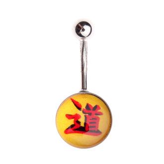 piercing ékszer - Sárga / Piros, NNM