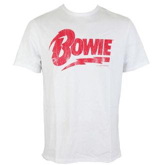 metál póló férfi David Bowie - DAVID BOWIE - AMPLIFIED, AMPLIFIED, David Bowie