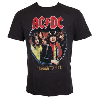 metál póló férfi AC-DC - ACDC - AMPLIFIED, AMPLIFIED, AC-DC