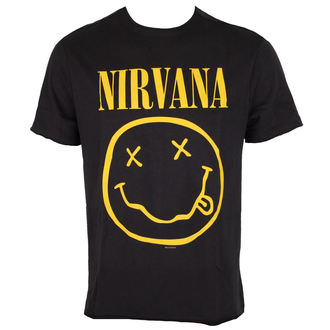 metál póló férfi Nirvana - NIRVANA - AMPLIFIED, AMPLIFIED, Nirvana