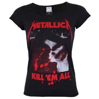 metál póló női Metallica - METALLICA - AMPLIFIED, AMPLIFIED, Metallica