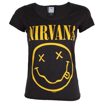 metál póló női Nirvana - NIRVANA - AMPLIFIED, AMPLIFIED, Nirvana