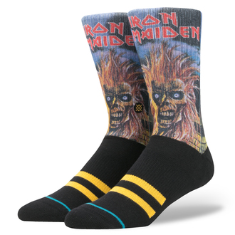 IRON MAIDEN zokni - BLACK, Iron Maiden