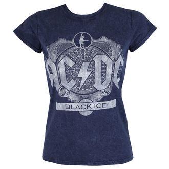 metál póló női AC-DC - Black Ice - ROCK OFF, ROCK OFF, AC-DC