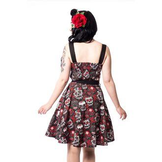 Rockabella női ruha - CARMEN - FEKETE, ROCKABELLA