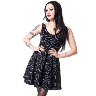 Heartless női ruha - CRYPT - FEKETE, HEARTLESS