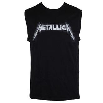 Metallica férfi felső - Spiked Logo - Fekete, NNM, Metallica