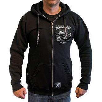 kapucnis pulóver férfi - CADILLAC - BLACK HEART, BLACK HEART