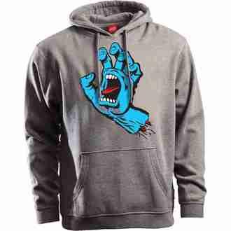 kapucnis pulóver férfi - Screaming Hand - SANTA CRUZ, SANTA CRUZ