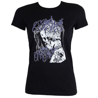 utcai póló női - PUNK - BLACK HEART, BLACK HEART