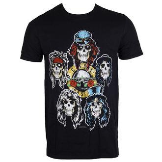 metál póló férfi Guns N' Roses - Vintage Heads - ROCK OFF, ROCK OFF, Guns N' Roses
