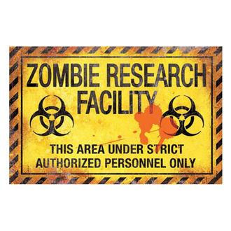 Zombie Research Facility tábla