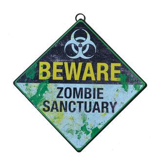 Beware Zombie Sanctuary tábla, NNM