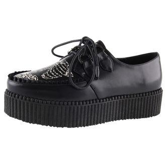 cipő ék női - SKELETON - BANNED, BANNED