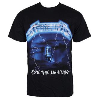 metál póló férfi Metallica - Ride The Lightning - NNM - RTMTL(NEW)TSBRID