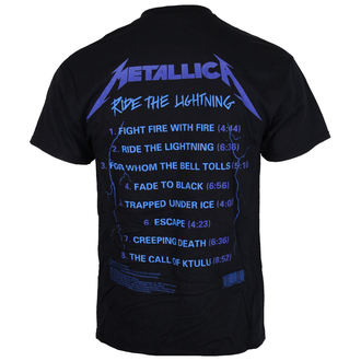 metál póló férfi Metallica - Ride The Lightening -, Metallica