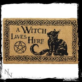 A Witch Lives Here lábtörlő- B2743G6