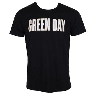 metál póló férfi Green Day - Logo & Grenade Applique Slub - ROCK OFF, ROCK OFF, Green Day