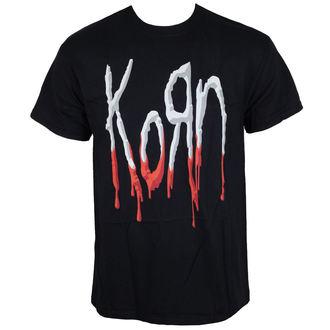 metál póló férfi Korn - Bloody Logo -, Korn