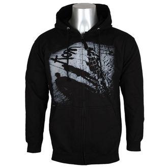 kapucnis pulóver férfi Korn - Black - NNM, NNM, Korn