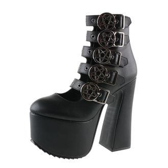 magassarkú cipő női - Burial - KILLSTAR, KILLSTAR