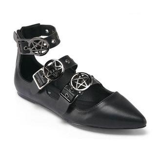 balerina cipők női - Banshee - KILLSTAR, KILLSTAR