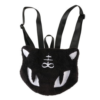 KILLSTAR hátizsák- Lucipurr Furry - Fekete, KILLSTAR