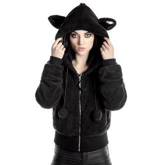 kapucnis pulóver női - Satanicat - KILLSTAR, KILLSTAR