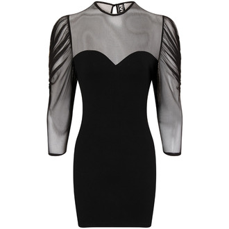 Necessary Evil női ruha - Ruched Mesh Lyssa, NECESSARY EVIL