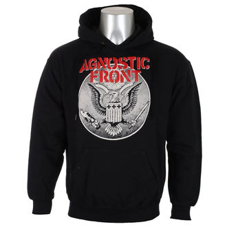 kapucnis pulóver férfi Agnostic Front - ALL AGAINST ALL - RAGEWEAR, RAGEWEAR, Agnostic Front