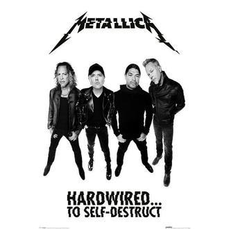 METALLICA poszter- PYRAMID POSTERS, PYRAMID POSTERS, Metallica