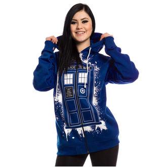 kapucnis pulóver női Doctor Who - TARDIS GRAFFITI -