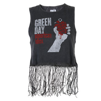 Green Day női felső - American Idiot - ROCK OFF - GDTVT01LC
