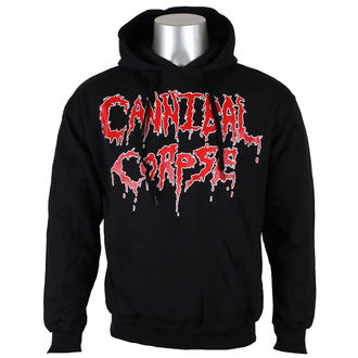 kapucnis pulóver férfi Cannibal Corpse - Logo - NUCLEAR BLAST, NUCLEAR BLAST, Cannibal Corpse