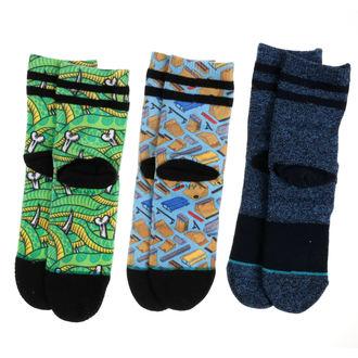 Thrasher gyerek zokni (3 pár/készlet) - MULTI