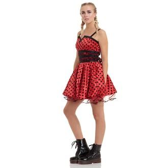 női ruha JAWBREAKER - Ladybird Flare - DRA 2076