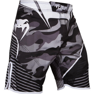 Venum boxoló rövidnadrág - Camo Hero - fehér / fekete, VENUM
